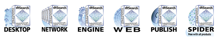 dtSearch product range
